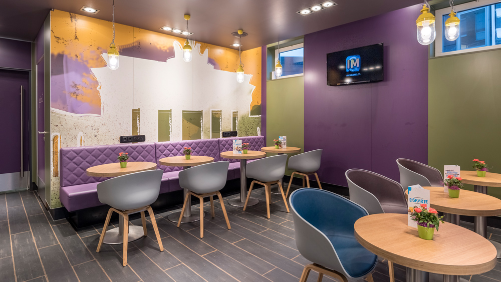 mcdonald s restaurant rdz in d sseldorf mercedesstrasse baues architekten. Black Bedroom Furniture Sets. Home Design Ideas