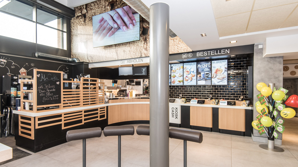 mcdonald s restaurant in rheine baues architekten. Black Bedroom Furniture Sets. Home Design Ideas