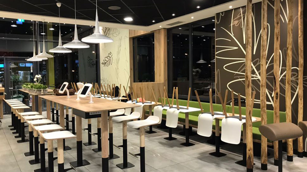 mcdonald s restaurant in essen baues architekten. Black Bedroom Furniture Sets. Home Design Ideas